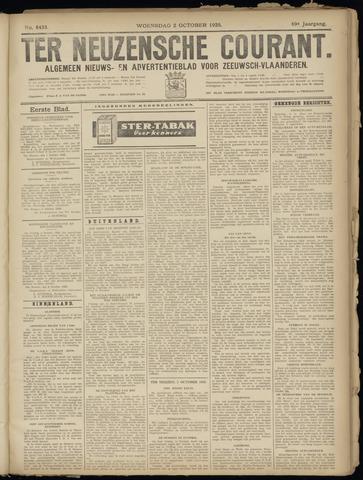 Ter Neuzensche Courant. Algemeen Nieuws- en Advertentieblad voor Zeeuwsch-Vlaanderen / Neuzensche Courant ... (idem) / (Algemeen) nieuws en advertentieblad voor Zeeuwsch-Vlaanderen 1929-10-02