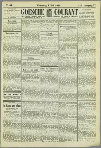 Goessche Courant 1929-05-01