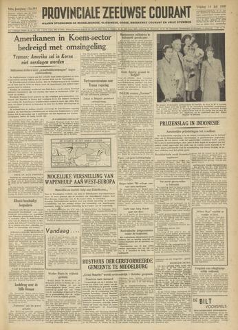 Provinciale Zeeuwse Courant 1950-07-14
