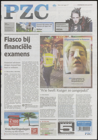 Provinciale Zeeuwse Courant 2014-05-28