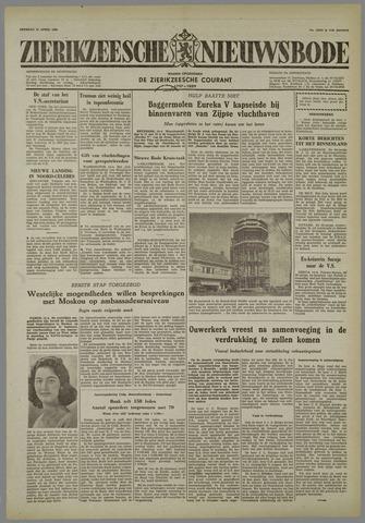 Zierikzeesche Nieuwsbode 1958-04-15