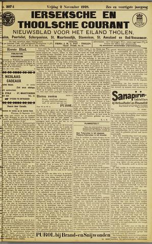 Ierseksche en Thoolsche Courant 1928-11-02