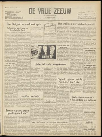 de Vrije Zeeuw 1954-04-12
