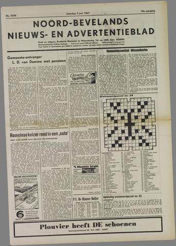 Noord-Bevelands Nieuws- en advertentieblad 1967-06-03