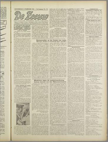 De Zeeuw. Christelijk-historisch nieuwsblad voor Zeeland 1944-02-24