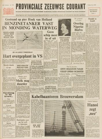 Provinciale Zeeuwse Courant 1968-05-03