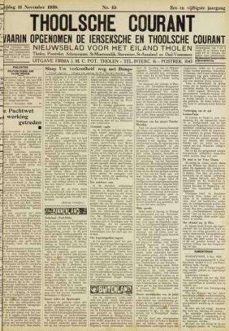 Ierseksche en Thoolsche Courant 1938-11-11