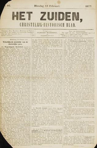 Het Zuiden, Christelijk-historisch blad 1877-02-13