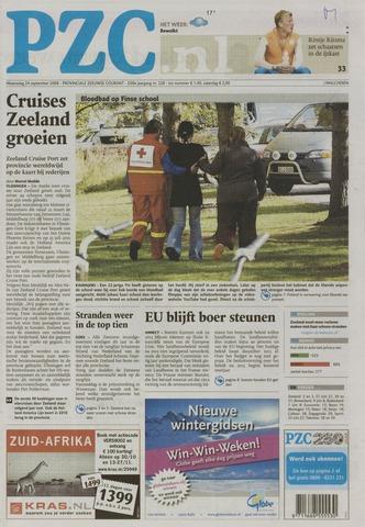Provinciale Zeeuwse Courant 2008-09-24