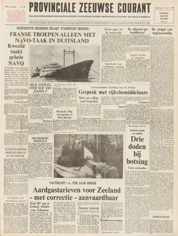 Provinciale Zeeuwse Courant 1966-04-07