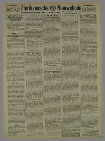Zierikzeesche Nieuwsbode 1923-03-21