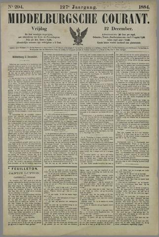 Middelburgsche Courant 1884-12-12