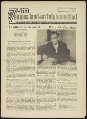 Zeeuwsch landbouwblad ... ZLM land- en tuinbouwblad 1965-11-19