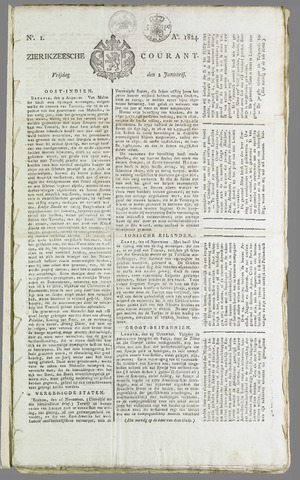 Zierikzeesche Courant 1824
