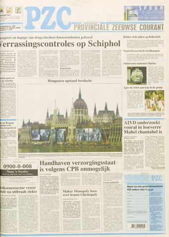 Provinciale Zeeuwse Courant 2003-10-23