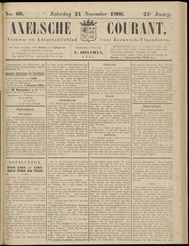Axelsche Courant 1906-11-24