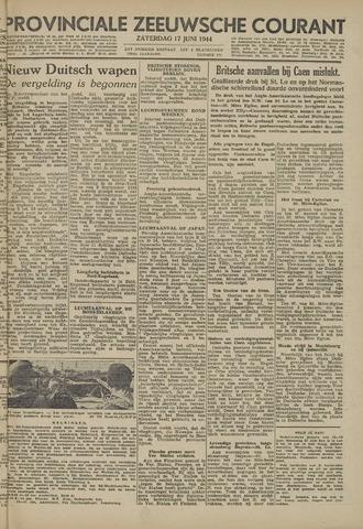 Provinciale Zeeuwse Courant 1944-06-17