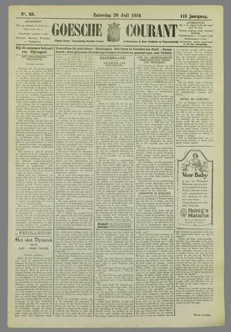 Goessche Courant 1924-07-26