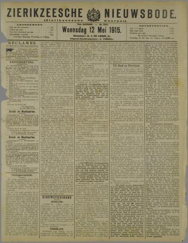 Zierikzeesche Nieuwsbode 1915-05-12