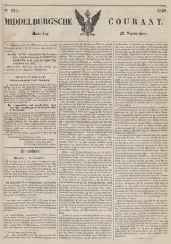Middelburgsche Courant 1869-11-29