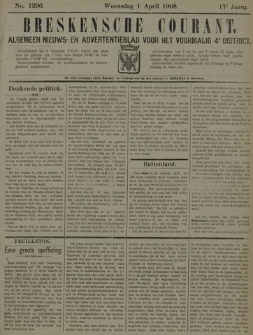 Breskensche Courant 1908-04-01