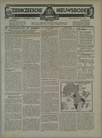 Zierikzeesche Nieuwsbode 1940-10-12