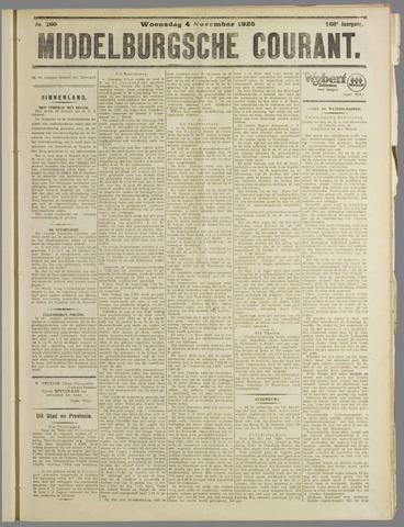 Middelburgsche Courant 1925-11-04
