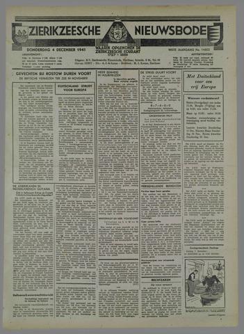 Zierikzeesche Nieuwsbode 1941-11-05