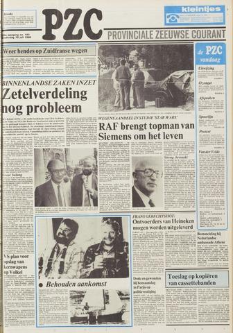 Provinciale Zeeuwse Courant 1986-07-10