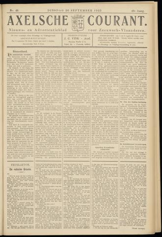 Axelsche Courant 1933-09-26