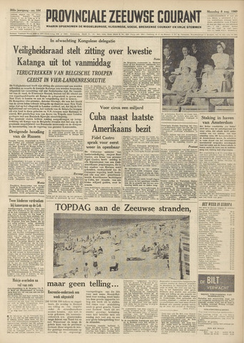 Provinciale Zeeuwse Courant 1960-08-08