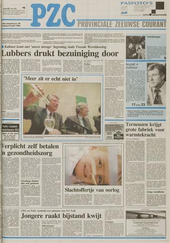 Provinciale Zeeuwse Courant 1993-04-23