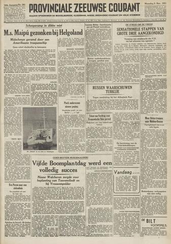 Provinciale Zeeuwse Courant 1951-11-05