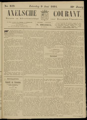 Axelsche Courant 1894-06-09