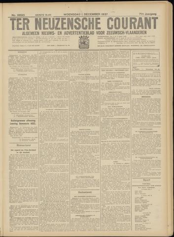 Ter Neuzensche Courant. Algemeen Nieuws- en Advertentieblad voor Zeeuwsch-Vlaanderen / Neuzensche Courant ... (idem) / (Algemeen) nieuws en advertentieblad voor Zeeuwsch-Vlaanderen 1937-12-01