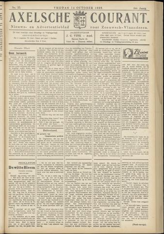 Axelsche Courant 1938-10-14