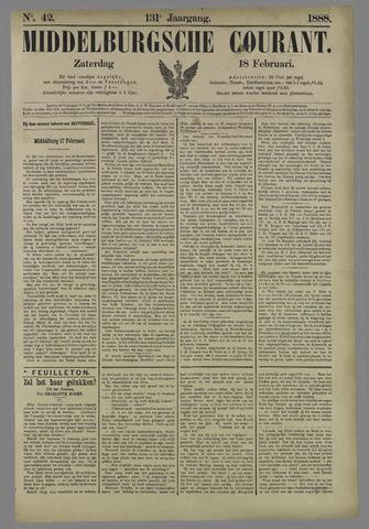 Middelburgsche Courant 1888-02-18