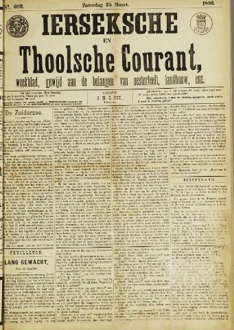 Ierseksche en Thoolsche Courant 1893-03-25