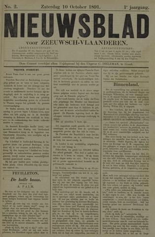 Nieuwsblad voor Zeeuwsch-Vlaanderen 1891-10-10