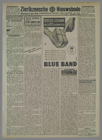 Zierikzeesche Nieuwsbode 1933-04-10