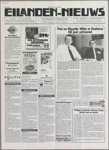 Eilanden-nieuws. Christelijk streekblad op gereformeerde grondslag 1995-09-15