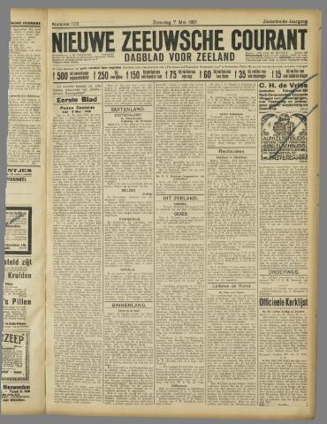Nieuwe Zeeuwsche Courant 1921-05-07