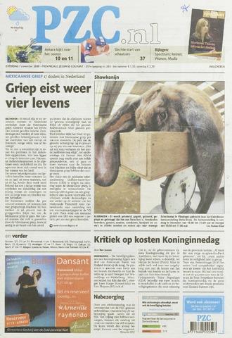 Provinciale Zeeuwse Courant 2009-11-07