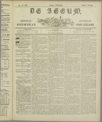 De Zeeuw. Christelijk-historisch nieuwsblad voor Zeeland 1898-12-24