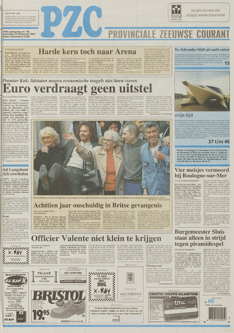 Provinciale Zeeuwse Courant 1997-02-22