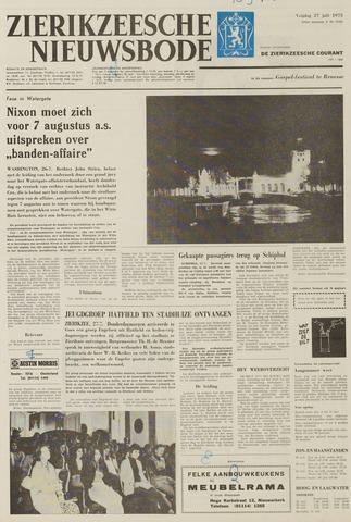 Zierikzeesche Nieuwsbode 1973-07-27