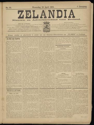 Zelandia. Nieuws-en advertentieblad voor Zeeland | edities: Het Land van Hulst en De Vier Ambachten 1902-04-23