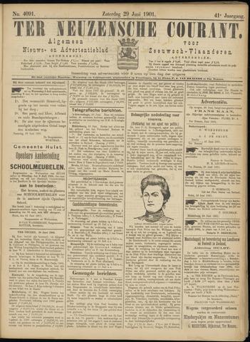 Ter Neuzensche Courant. Algemeen Nieuws- en Advertentieblad voor Zeeuwsch-Vlaanderen / Neuzensche Courant ... (idem) / (Algemeen) nieuws en advertentieblad voor Zeeuwsch-Vlaanderen 1901-06-29