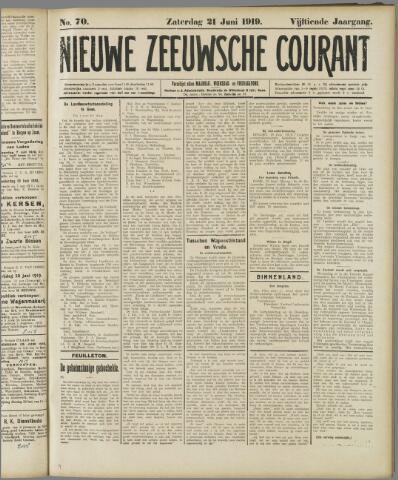 Nieuwe Zeeuwsche Courant 1919-06-21
