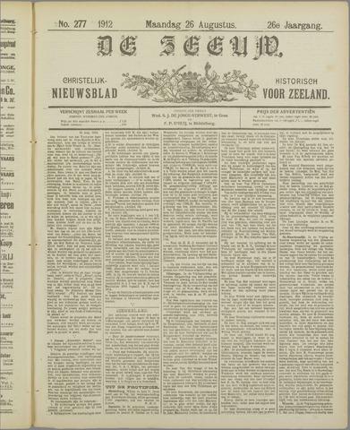 De Zeeuw. Christelijk-historisch nieuwsblad voor Zeeland 1912-08-26